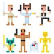 Demanuela, de manuela, Alfred Belda, diseño barcelona, manuela, pixel art barcelona, pixels, pixel art,  Alfredo Belda, marketing Barcelona
